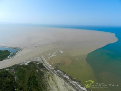 Desembocadura del rio Guaire
