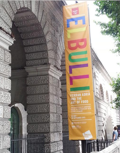 """elBulli: Ferran Adrià and The Art of Food"" exhibition"
