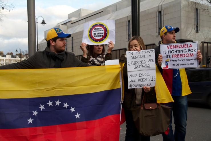 Manifestaciones en Londres 22/02/2014 / Fotografia: Federica Arevalo / www.elarepon.com