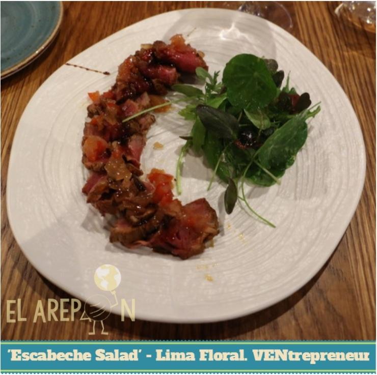 Escabeche Salad Lima Floral